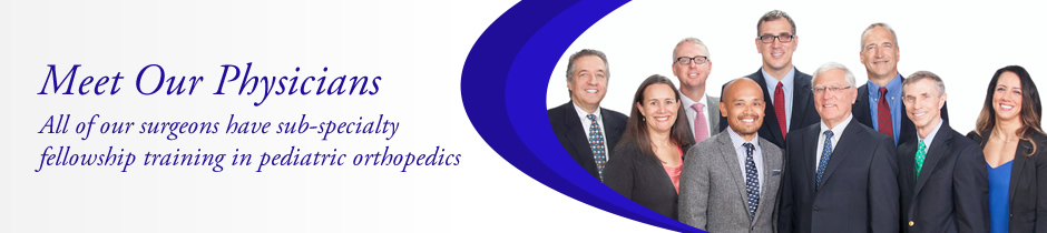 Meet Our Pediatric Orthopedic Physicians | Located in East